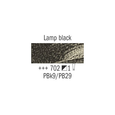 Λάδι Van Gogh Talens 20ml, Lamp Black
