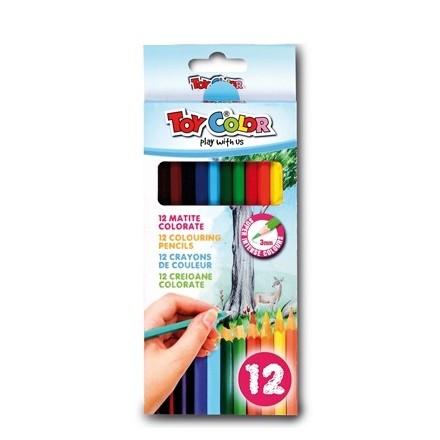 Σετ Ξυλομπογιές Toy Color 12 χρωμάτων