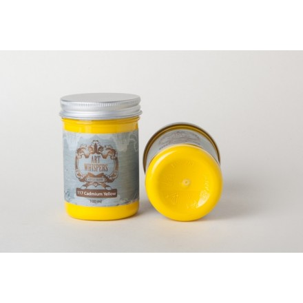 Ακρυλικά Χρώματα Art Whispers 100ml, Cadmium Yellow