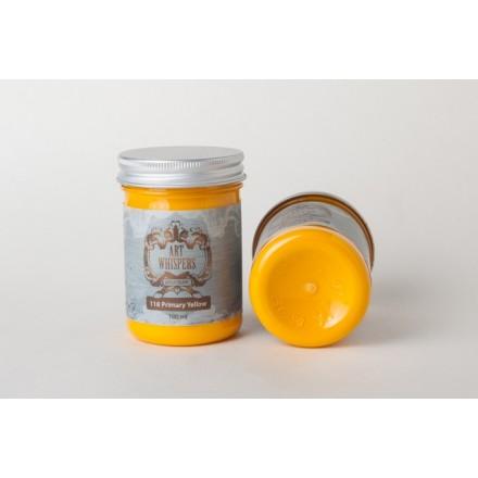 Ακρυλικά Χρώματα Art Whispers 100ml, Primary Yellow