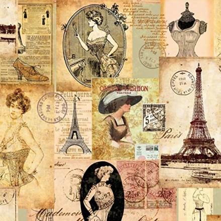Χαρτοπετσέτα για Decoupage, Madame a Paris / 13307140