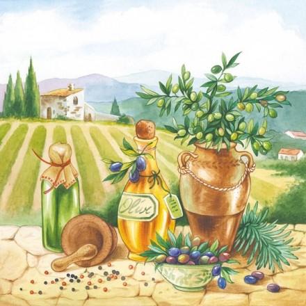 Χαρτοπετσέτα για Decoupage, Toscana / 13309145