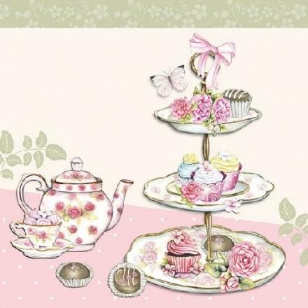 Χαρτοπετσέτα για Decoupage, High Tea / 13309920