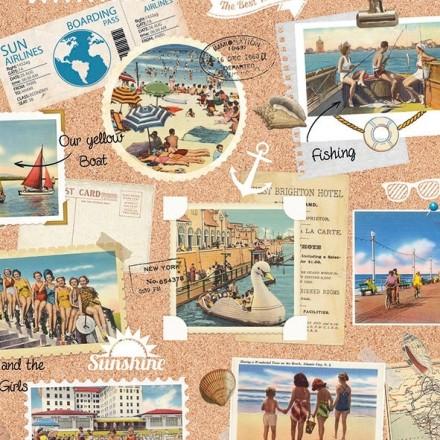 Χαρτοπετσέτα για Decoupage, Vacation Scrapbook / 13310105