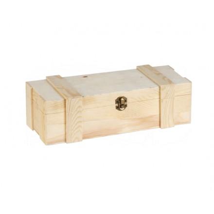 Ξύλινο Κουτί για μια φιάλη 35.5x11x10cm