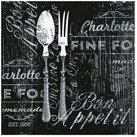 Χαρτοπετσέτα για Decoupage, Bon appetit / PD-200034
