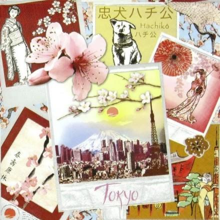 Χαρτοπετσέτα για Decoupage, Tokyo / 211355