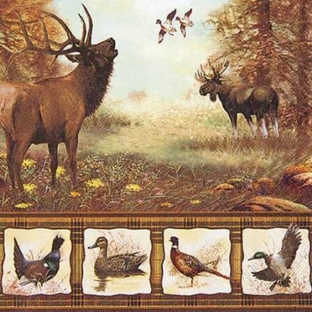 Χαρτοπετσέτα για Decoupage, Wildlife / 211409