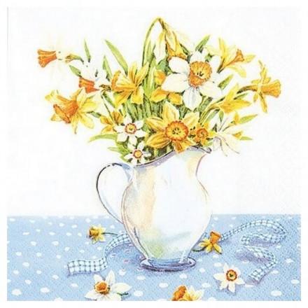 Χαρτοπετσέτα για Decoupage, Painted Daffodils / 211418