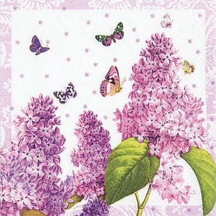 Χαρτοπετσέτα για Decoupage, Painted Lilac / 211419