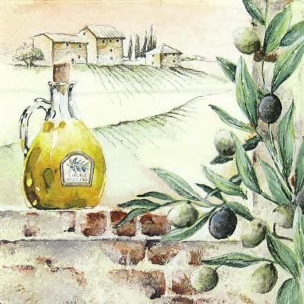 Χαρτοπετσέτα για Decoupage, Tuscan Feelings / 211537