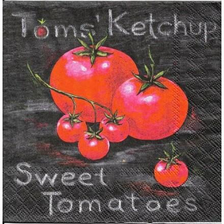 Χαρτοπετσέτα για Decoupage, Tomatoes / 2572-6498-20