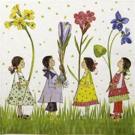 Χαρτοπετσέτα για Decoupage, Tadita Summer Fairies / 2572-6313-25