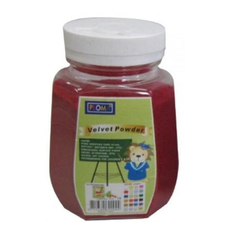 Σκόνη βελούδο 63,5gr, Κόκκινη