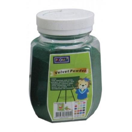Σκόνη βελούδο 63,5gr, Πράσινη