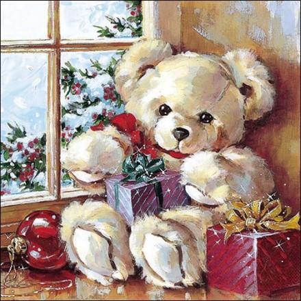 Χαρτοπετσέτα για Decoupage, Teddy Bear / 33304375