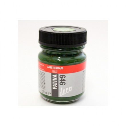 Amsterdam Deco Patina 50ml (Talens), Antique Green