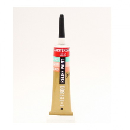 Amsterdam Relief 20ml (Talens), Gold