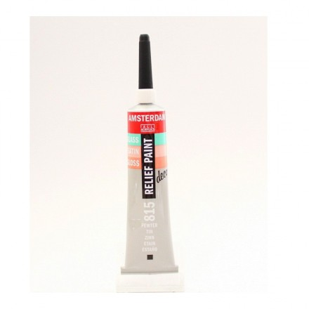 Amsterdam Relief 20ml (Talens), Pewter
