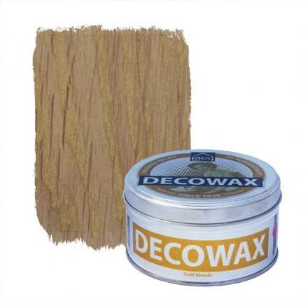 Κερί Παλαίωσης Lacq Decowax 370ml, Gold Metallic