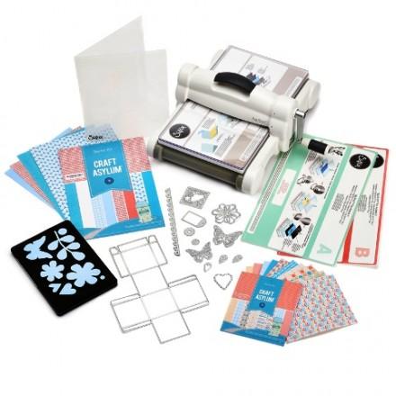 Sizzix Big Shot Plus Starter Kit (White & Gray)