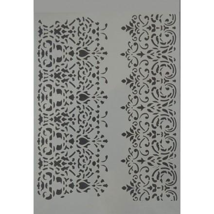 Στένσιλ (Stencil) Decostar 21x30cm / A0016