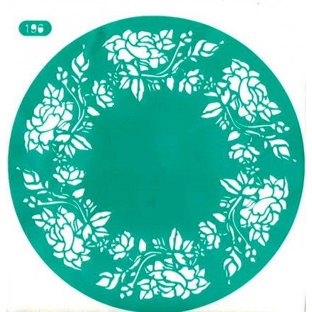 Stencil R Artistic Design ø 30cm