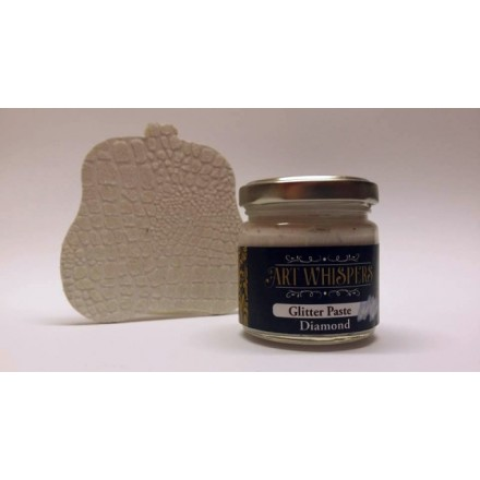 Glitter Paste Art Whispers 100ml, Diamond