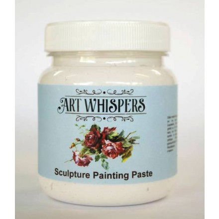 Sculpture Painting Paste Art Whispers 400gr, Λευκή
