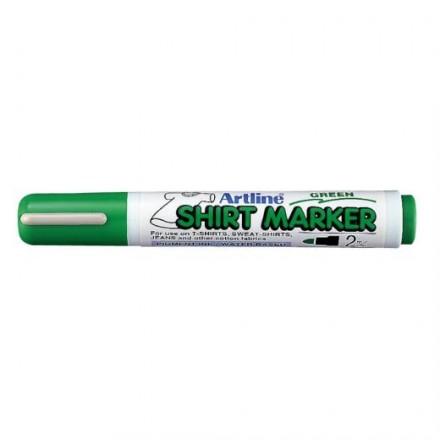 Μαρκαδόροι Υφάσματος Artline T-Shirt marker EK-2 (2mm, Πράσινο)