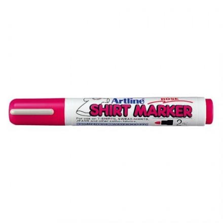 Μαρκαδόροι Υφάσματος Artline T-Shirt marker EK-2 (2mm, Ροζ)