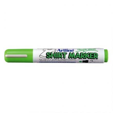 Μαρκαδόροι Υφάσματος Artline T-Shirt marker EK-2 (2mm, Ανοιχτό Πράσινο)