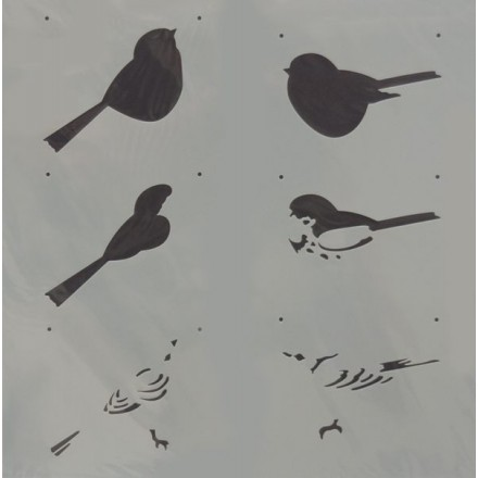 Στένσιλ (Stencil) Decostar 30x30cm / B0049