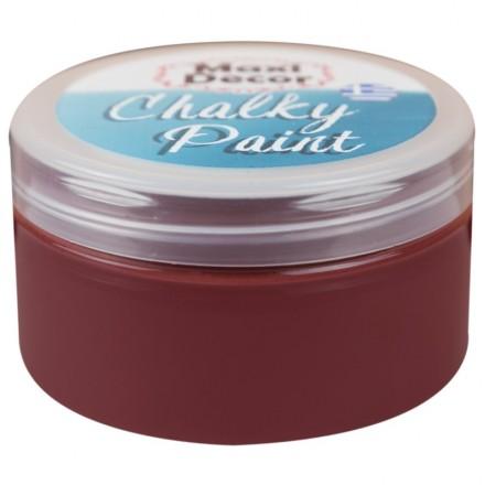 Χρώματα Κιμωλίας (chalky) Maxi Color 100ml, Καφέ/Κόκκινο
