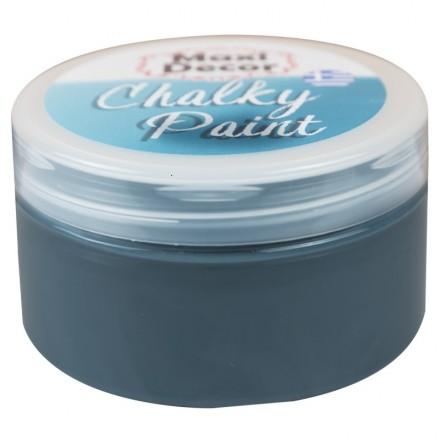 Χρώματα Κιμωλίας (chalky) Maxi Color 100ml, ΓκριζοΜπλε Σκούρο