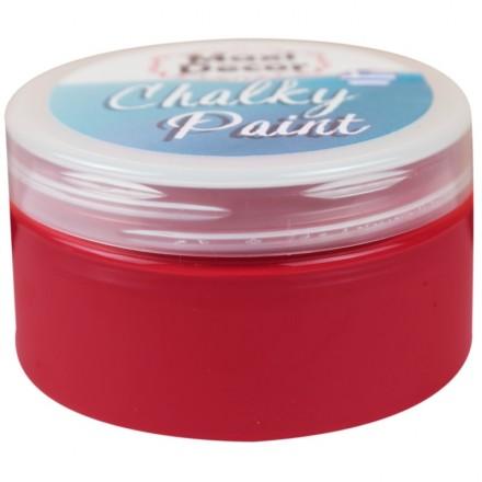 Χρώματα Κιμωλίας (chalky) Maxi Color 100ml, Μπορντό