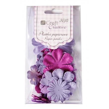 Χάρτινα πέταλα (36τεμ, Lilac)