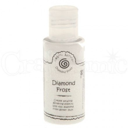 Cosmic Shimmer Diamond Frost Glitter Dust 50ml, Frosty Dawn