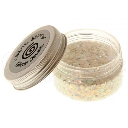Cosmic Shimmer Glitter Jewels 25ml, Crystal Chips