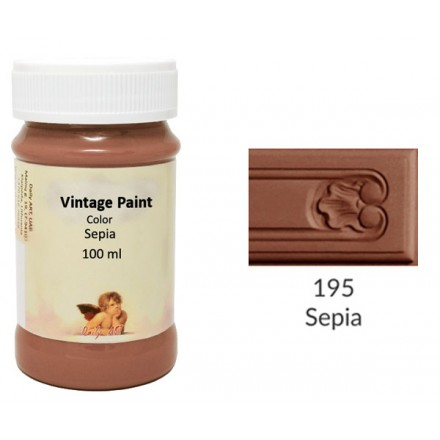 Vintage Paint Daily Art 100ml, Sepia
