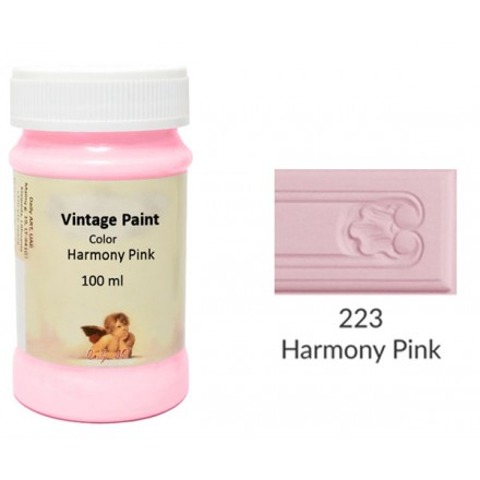 Vintage Paint Daily Art 100ml, Harmony Pink