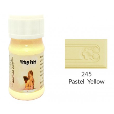Vintage Paint Daily Art 100ml, Pastel Yellow