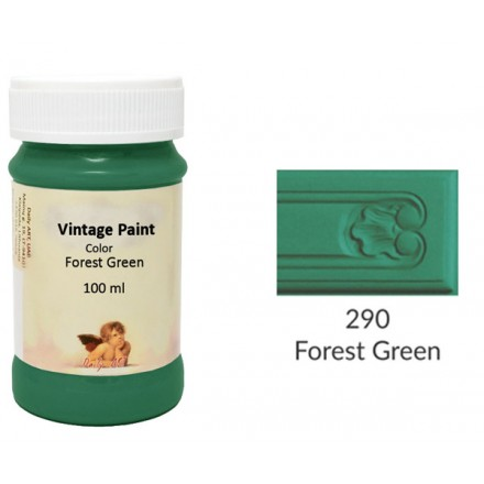 Vintage Paint Daily Art 100ml, Forest Green