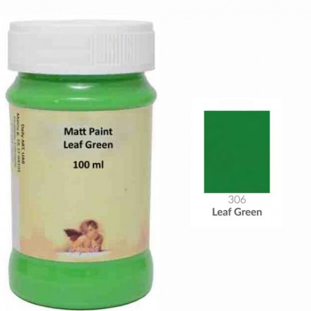 Matt Paint DailyArt 100ml, Leaf Green