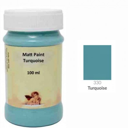 Matt Paint DailyArt 100ml, Turquoise