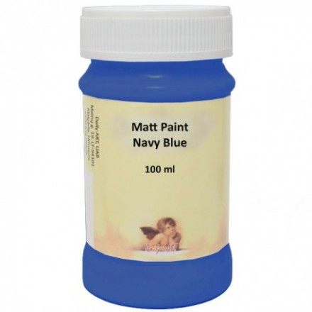 Matt Paint DailyArt 100ml, Navy Blue