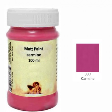 Matt Paint DailyArt 100ml, Carmine