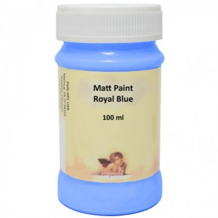 Matt Paint DailyArt 100ml, Royal Blue