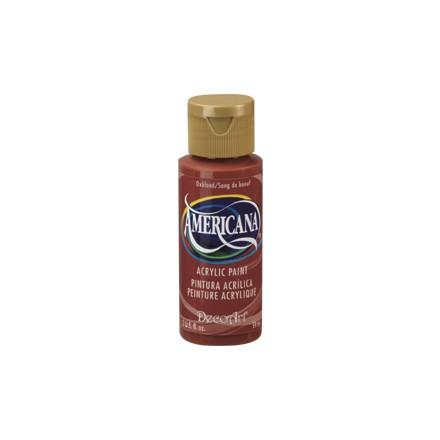 Americana Acrylics 59ml, Oxblood