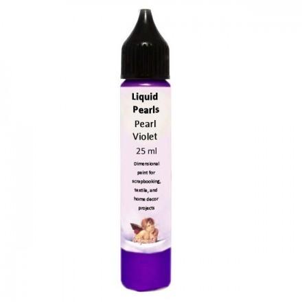 Liquid Pearls 25ml (DailyArt), Pearl Violet